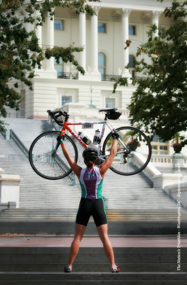 Triathlete in dc-blog